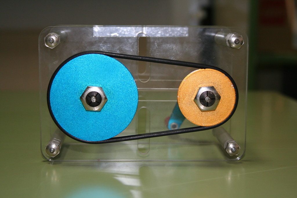 toothed transmission pulleys